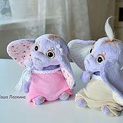 Куклы и игрушки ручной работы. Ярмарка Мастеров - ручная работа Лавандовые слоняшики. Handmade.
