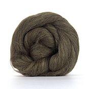 Материалы для творчества handmade. Livemaster - original item Wool felting Blurays Brown 50g-220R. Handmade.