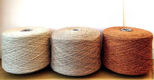 Вязание ручной работы. Ярмарка Мастеров - ручная работа. Купить Самарканд - 75% шерсть, 25% - шелк. Handmade. Бежевый