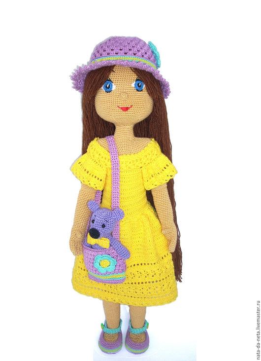 Человечки ручной работы. Ярмарка Мастеров - ручная работа. Купить Кукла вязаная Полинка.Кукла-девочка вязаная.Кукла игровая,интерьерная. Handmade.