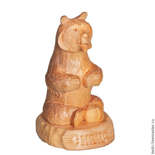 Статуэтки ручной работы. Ярмарка Мастеров - ручная работа. Купить Медведь 4. Handmade. Желтый, ручная работа, русская традиция