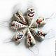 New year's interior pendant. Textile toys. Christmas decorations. GALAtoys. My Livemaster. Фото №5