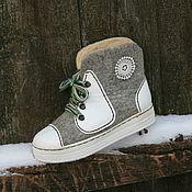 """Обувь ручной работы. Ярмарка Мастеров - ручная работа """"Кеды"""". Handmade."""
