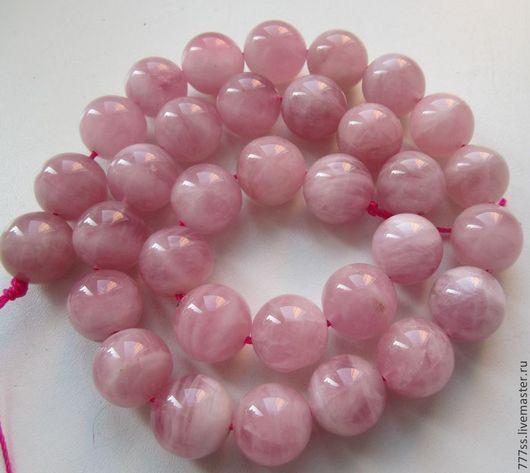 Для украшений ручной работы. Ярмарка Мастеров - ручная работа. Купить Розовый кварц (Мадагаскарский). Handmade. Бледно-розовый
