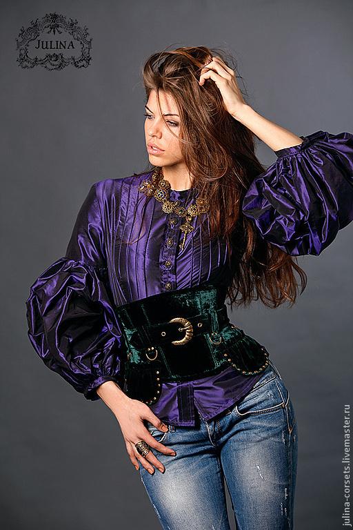 Блузки фиолетовые купить