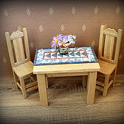Куклы и игрушки ручной работы. Ярмарка Мастеров - ручная работа Мебель из дерева для кукол.. Handmade.