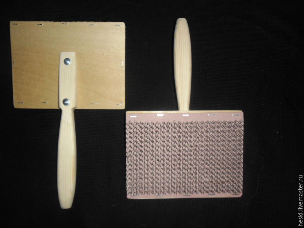 ЧЕСКИ ШЕРСТЬ ПУХ ( ЦЕНА ЗА 2 ШТУКИ), Инструменты для вязания, Прохоровка, Фото №1