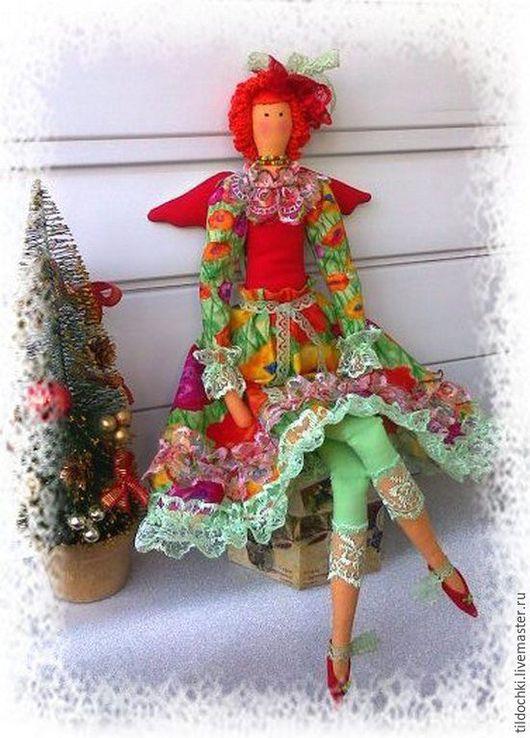 Куклы Тильды ручной работы. Ярмарка Мастеров - ручная работа. Купить Фея Детского сада. Handmade. Комбинированный, волшебство, бисер