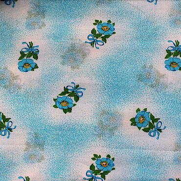 Материалы для творчества ручной работы. Ярмарка Мастеров - ручная работа Хлопок для рукоделия 50х40 см. Handmade.