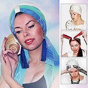 Аксессуары handmade. Livemaster - original item Turban - turban TRANSFORMER. Handmade.