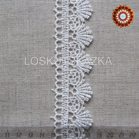 Кружево декоративное, 30мм, Код товара: KS-0016