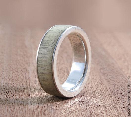 Кольца ручной работы. Ярмарка Мастеров - ручная работа. Купить Серебряное кольцо,дерево,свадьба, обручальное,свадьба. Handmade.