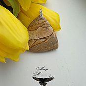 """Оберег ручной работы. Ярмарка Мастеров - ручная работа Талисман """"Вечная молодость"""" на песочной яшме. Handmade."""