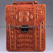 Сумки и аксессуары handmade. Livemaster - original item Bag tablet, men`s crocodile leather IMA0106UK1. Handmade.