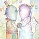 Фантазийные сюжеты ручной работы. Ярмарка Мастеров - ручная работа. Купить Горько..) Авторский Принт.. Handmade. Картина
