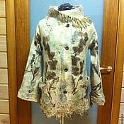 Одежда ручной работы. Ярмарка Мастеров - ручная работа пальто Осеннее  настроение. Handmade.