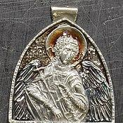 """Подарки к праздникам ручной работы. Ярмарка Мастеров - ручная работа Медальон """"Ангел"""". Handmade."""