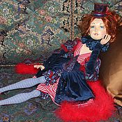 Куклы и игрушки ручной работы. Ярмарка Мастеров - ручная работа Мастер-класс: Авторская будуарная кукла Марина.. Handmade.