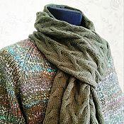 """Одежда ручной работы. Ярмарка Мастеров - ручная работа Пальто с шарфом """"Элла"""". Handmade."""