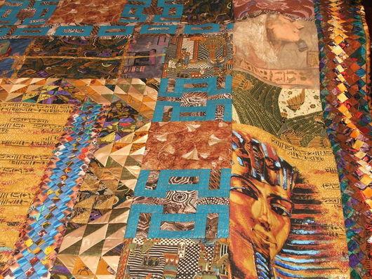 Текстиль, ковры ручной работы. Ярмарка Мастеров - ручная работа. Купить Покрывало  Мистический Египет. Handmade. Покрывало, квилт, эксклюзив