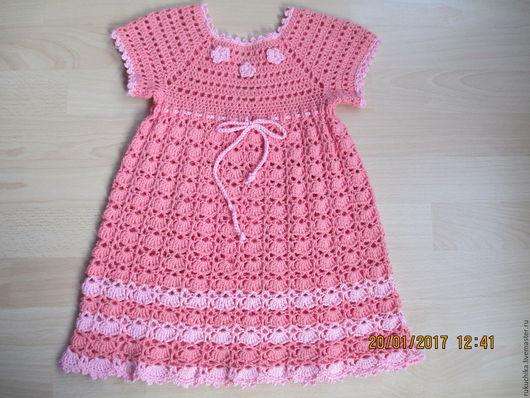 Одежда для девочек, ручной работы. Ярмарка Мастеров - ручная работа. Купить комплект--- платьице для девочки  1,5---3 года. Handmade.