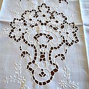 Винтаж handmade. Livemaster - original item Curtain pairs on the window or on the door.Italy. Handmade.