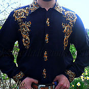Одежда handmade. Livemaster - original item Shirt men`s