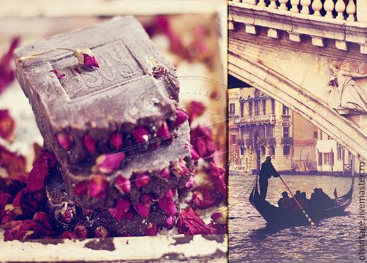 """Мыло ручной работы. Ярмарка Мастеров - ручная работа. Купить Мыло с нуля с ароматом розы """"Письма к Джульетте"""". Handmade. Бордовый"""