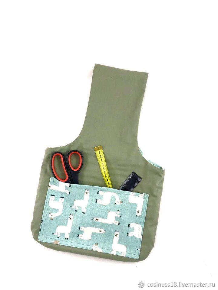 Проектная сумка для вязальщиц