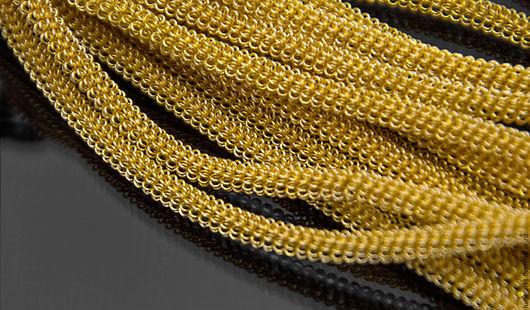 Для украшений ручной работы. Ярмарка Мастеров - ручная работа. Купить Канитель витая 3мм Золото (KAN-5) Индия. Handmade.