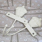 """Для дома и интерьера ручной работы. Ярмарка Мастеров - ручная работа Вешалка """"Маффин""""( 2 шт). Handmade."""