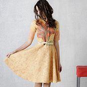 """Одежда ручной работы. Ярмарка Мастеров - ручная работа Валяное платье """"Лилия"""". Handmade."""