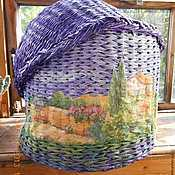 Для домашних животных, handmade. Livemaster - original item The wicker house cat, weighing 8-9 kg. Handmade.