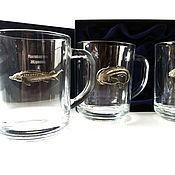 Сувениры и подарки handmade. Livemaster - original item Set of tea mugs