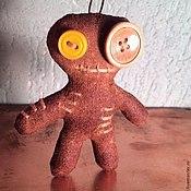 """Куклы и игрушки ручной работы. Ярмарка Мастеров - ручная работа Брелок """"Кофейный человечек"""". Handmade."""