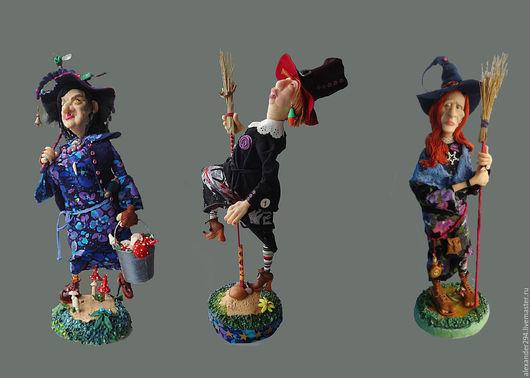Коллекционные куклы ручной работы. Ярмарка Мастеров - ручная работа. Купить Викки,Кэтти,Самми. Handmade. Разноцветный, ведро, ткань