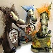 Куклы и игрушки ручной работы. Ярмарка Мастеров - ручная работа Лошадки-кобылки. Handmade.