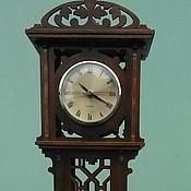 Для дома и интерьера ручной работы. Ярмарка Мастеров - ручная работа Миниатюрные настольные часы (стиль чиппендейл). Handmade.