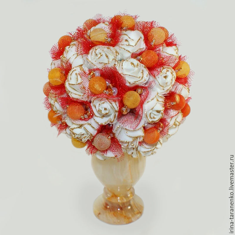 Agate flowers ' Bouquet of happiness`