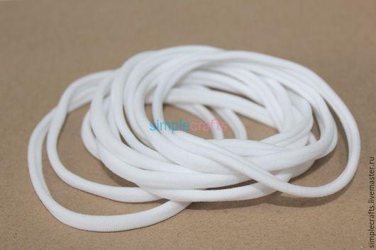 Для украшений ручной работы. Ярмарка Мастеров - ручная работа. Купить цвет Белый ONE SIZE (один размер, бесшовная резинка). Handmade.