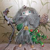 Фен-шуй и эзотерика handmade. Livemaster - original item Grandpa Goblin doll — guardian spirit of the Forest. Handmade.