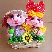 Сувениры и подарки handmade. Livemaster - original item A couple of family happiness and good luck. Handmade.
