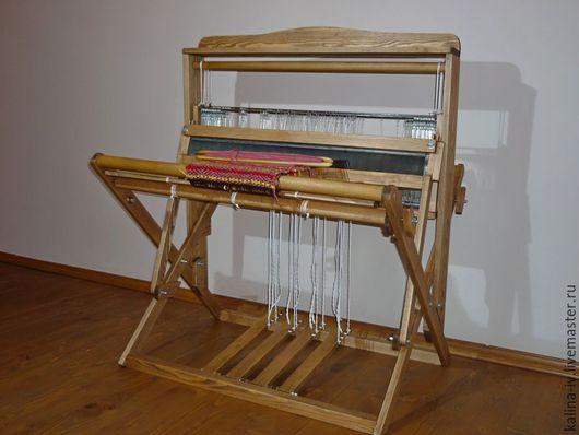 Другие виды рукоделия ручной работы. Ярмарка Мастеров - ручная работа. Купить Ткацкий станок складной 4-ремизный. Handmade.