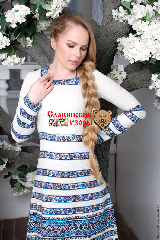 """Платья ручной работы. Ярмарка Мастеров - ручная работа. Купить Платье """"Лебёдушка"""". Handmade. Белый, Платье белое, на каждый день"""