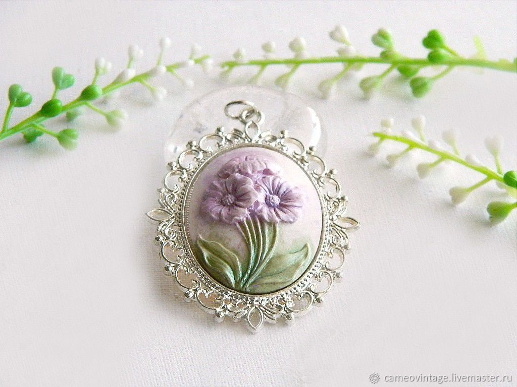 Камеи цветы