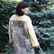 """Одежда ручной работы. Ярмарка Мастеров - ручная работа пальто  """"Пэчворк"""" - авторский войлок. Handmade."""