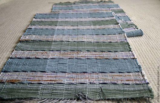 Текстиль, ковры ручной работы. Ярмарка Мастеров - ручная работа. Купить Половик ручного ткачества(№51). Handmade. Разноцветный, коврик