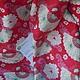 Куклы и игрушки ручной работы. Ткань Tilda Chinese Fan Red (Christmas Play) TF-419. Julia's attic. Интернет-магазин Ярмарка Мастеров.