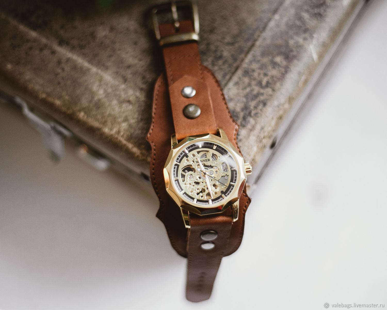 "Мужские наручные часы ""Граненые"", Часы наручные, Москва,  Фото №1"