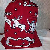 Сувениры и подарки handmade. Livemaster - original item Bag of Santa Claus. Handmade.